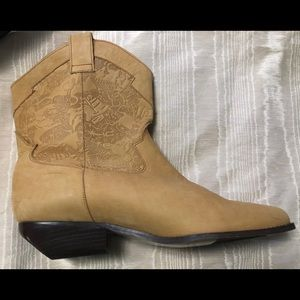 bootalinos Shoes - Bootalinos leather Cowboy style boots